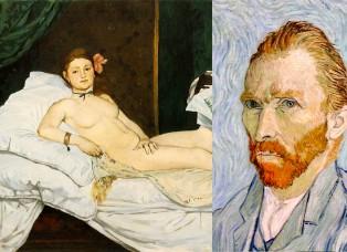 Olympia de Manet - Vincent Van Gogh